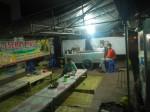Indonesisches Straßenrestaurant