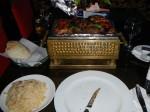 Ägyptischer Tischgrill mit orientalisch gewürtztem Hähnchen und Kofta: Hackfleischbällchen